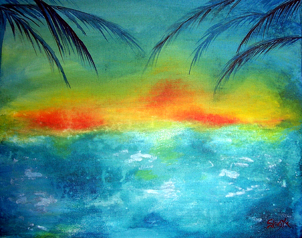 Caribbean Dreams Painting by Shasta Miller