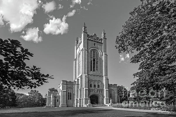 Carleton College Photograph - Carleton College Skinner Memorial Chapel by University Icons