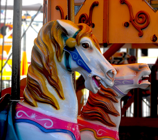 Carnival Photograph - Carnival by Kristie  Bonnewell