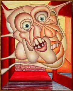 Carnival Of Fear Painting by Richard Beckholt