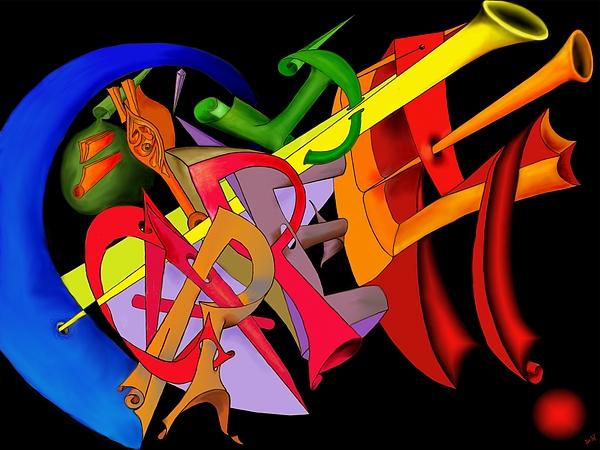 Carpe Diem Digital Art - Carpe Diem II by Helmut Rottler