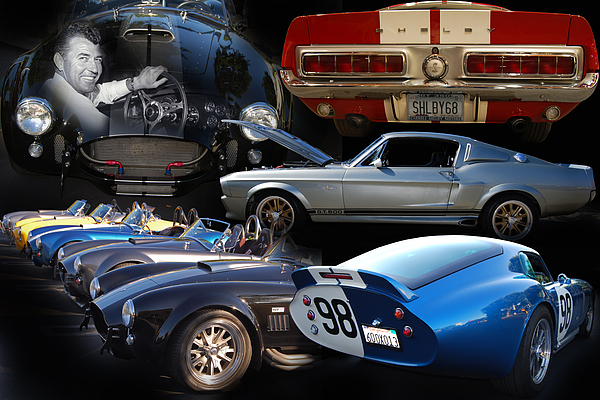 63 Photograph - Carroll Shelby Tribute by Bill Dutting