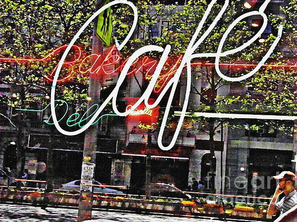 Window Photograph - Carrot Top On Broadway by Sarah Loft