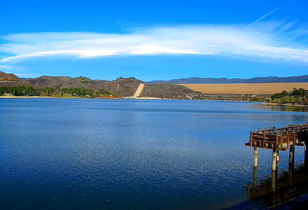 Lakes Photograph - Castaic California by John King