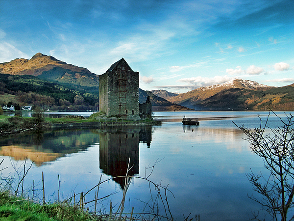 Castle Photograph - Castle On The Loch by Lynn Bolt
