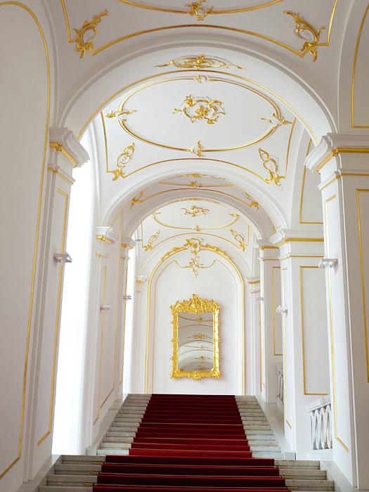 Bratislava Photograph - Castle Stairwell by Rae Tucker