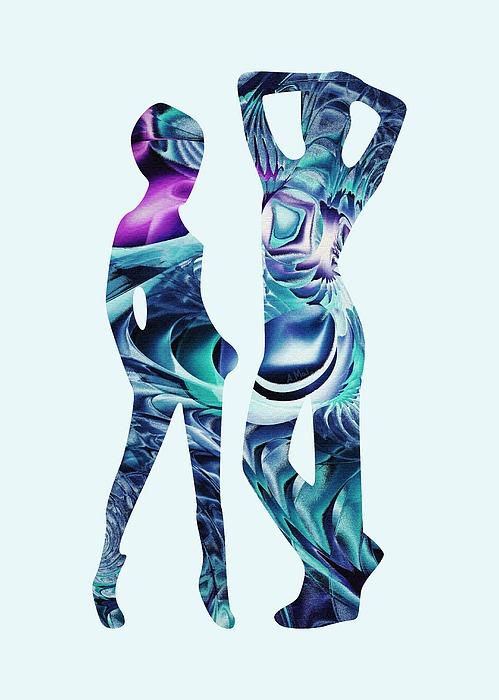 Body Digital Art - Casual by Anastasiya Malakhova