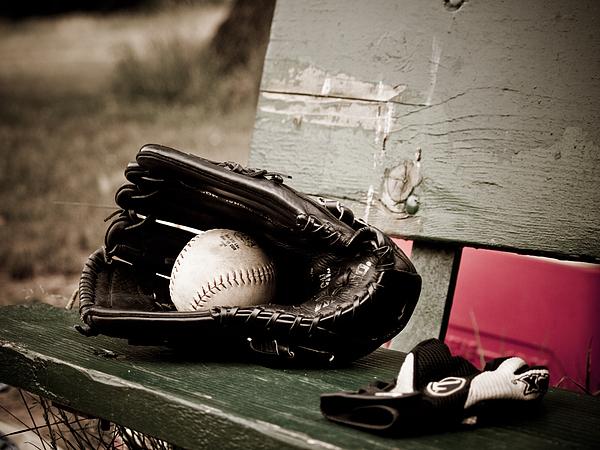 Ball Photograph - Catcher by Valerie Morrison