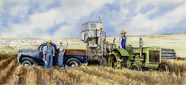 1938 Painting - Catesby Cuttin 1938 by Sam Sidders