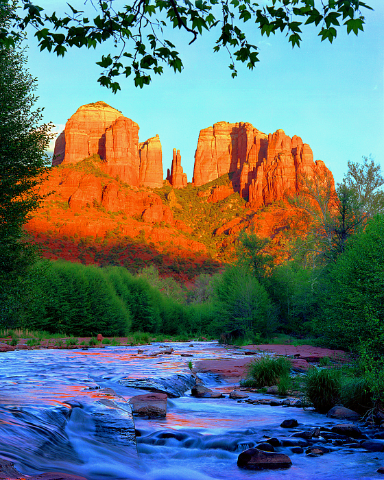 Sedona Photograph - Cathedral Rock by Frank Houck