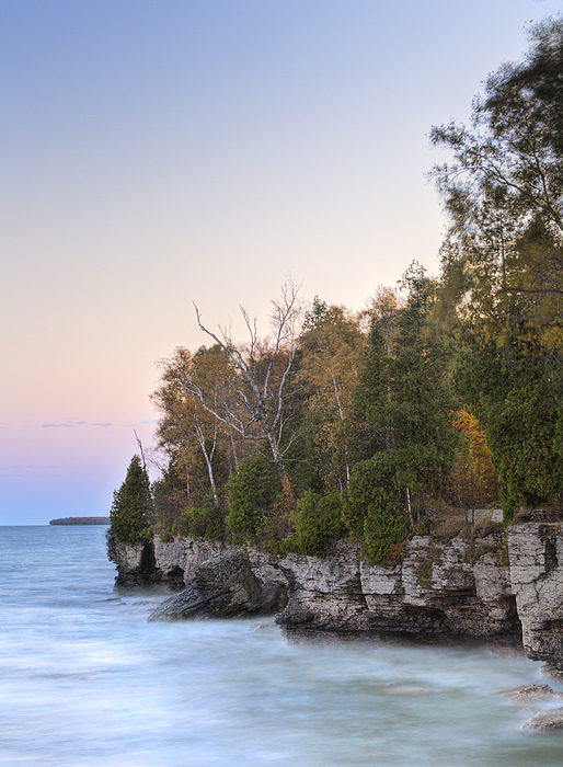 Cave Point  Photograph by Richard Steinberger