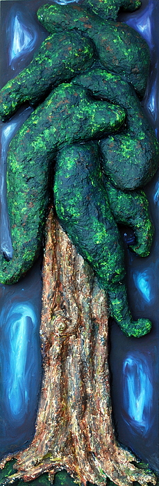 Cedar Painting - Cedar by Alison  Galvan