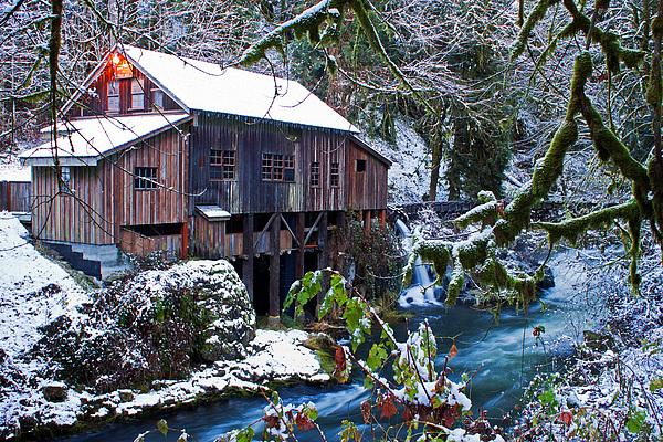 Cedar creek grist mill photograph by merrill beck for The cedar mill