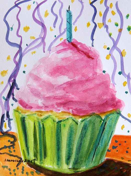 Cake Painting - Celebration 2 by John Williams