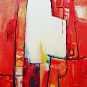 Abstract Expressionism Painting - Celebration I by Pamela Anderson