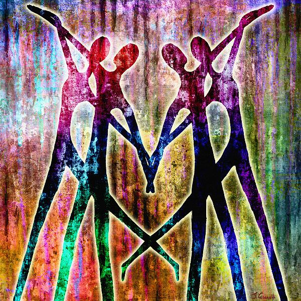 Dance Mixed Media - Celebration by Jaison Cianelli