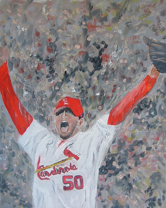 Cardinals Painting - Celebration by John Terry