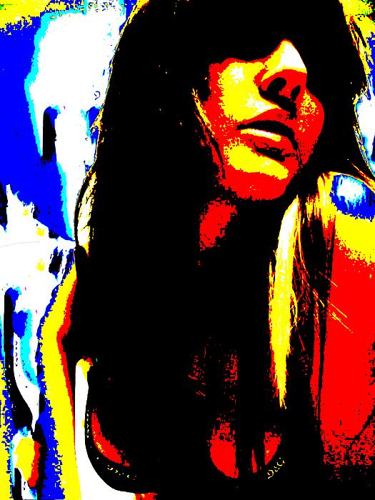 Abstract Digital Art - Celestial Engergy by Jimi Bush