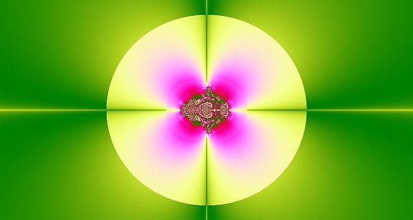 Digital Digital Art - Center Of The Flower by Thomas Smith