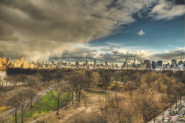 Central Park Photograph - Central Park Springtime by Ariane Moshayedi