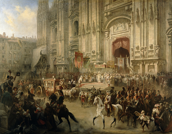 Ceremonial Painting - Ceremonial Reception by Adolf Jossifowitsch Charlemagne