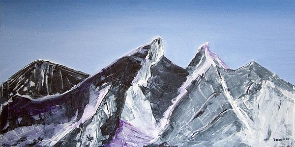 Cerro De La Silla Painting - Cerro De La Silla Of Monterrey Mexico by Kandyce Waltensperger