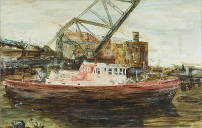 Cfd- Cuyahoga River Painting by Paul Jira