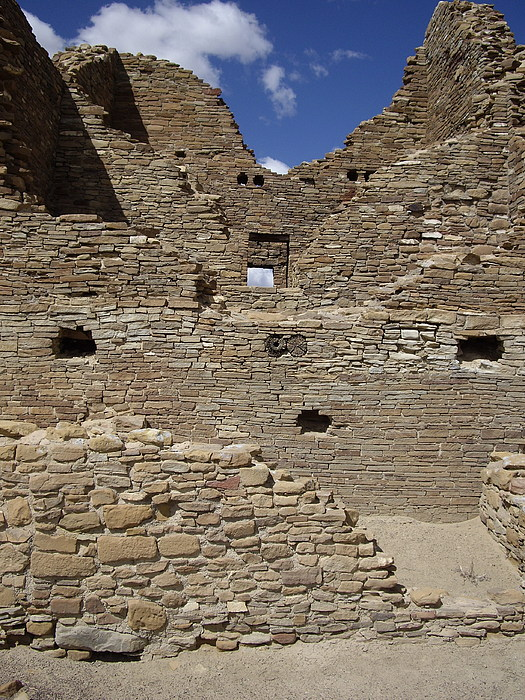 Chaco Canyon Photograph - Chaco 3 Story by Carol Komassa
