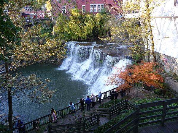 Chagrin Falls Photograph - Chagrin Falls by Joel Deutsch