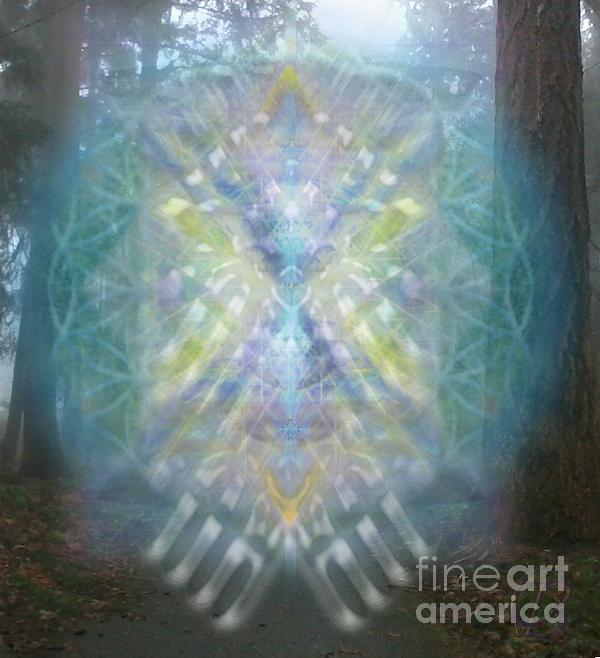 Tree Digital Art - Chalice-tree Spirit In The Forest V1 by Christopher Pringer