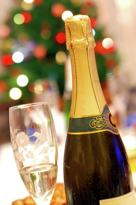 Alcohol Photograph - Champagne by Carlos Caetano