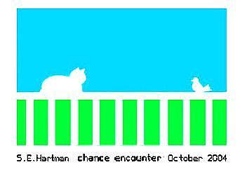 Chance Encounter Digital Art by Sue Hartman