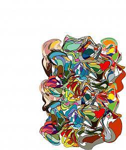 Chaos Digital Art - Chaos by Shirley Sacks