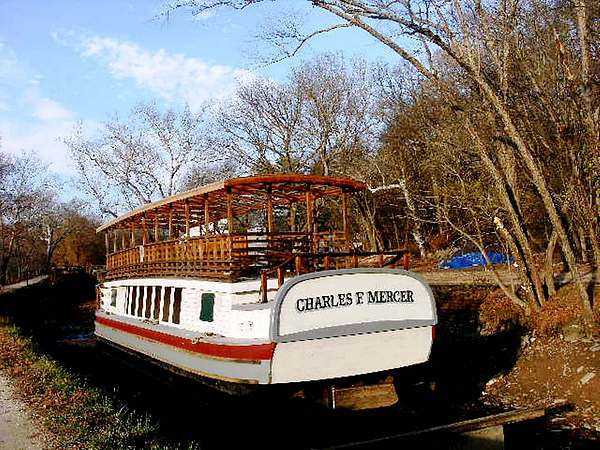 Md Photograph - Charles E Mercer Boat - Great Falls Md by Fareeha Khawaja