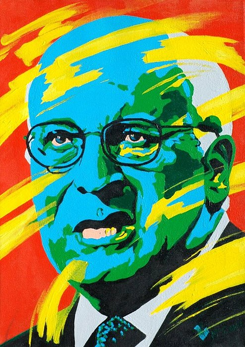 Painting Painting - Cheney by Dennis McCann