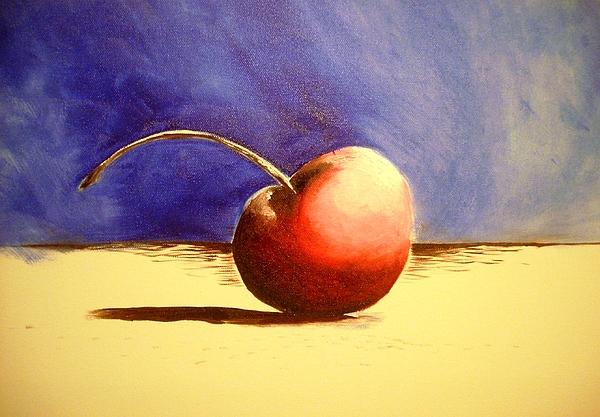 Cherry Pie Painting - Cherry 41 by Ruben Barbosa