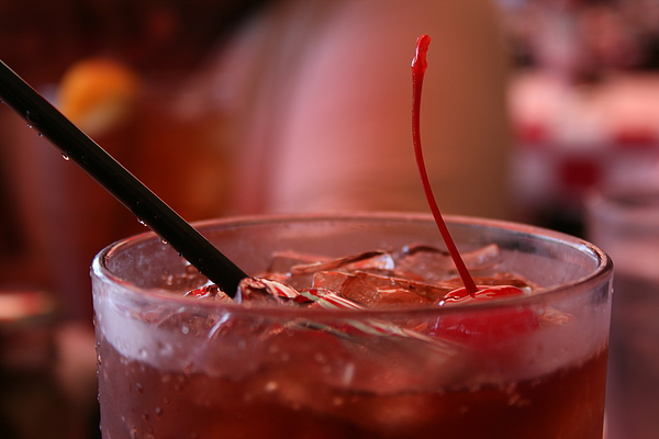Soda Photograph - Cherry Coke by Aimee Galicia Torres