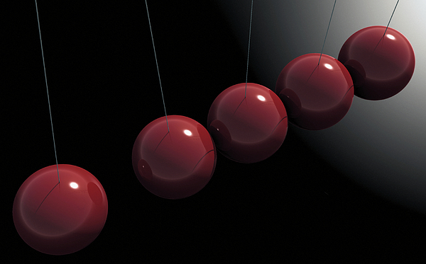 Minimalism Digital Art - Cherry Red Knockers by Richard Rizzo