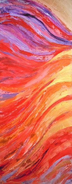 Deborah Brown Painting - Cherubim by Deborah Brown Maher