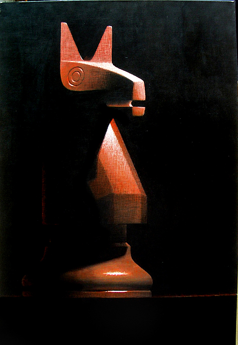 Chess Painting - Chess 1 by Josep Roig
