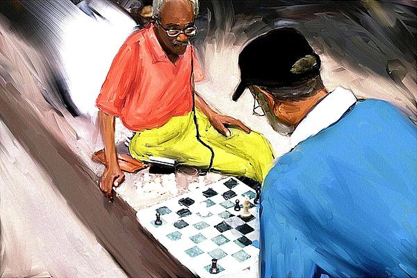 Chess  Mixed Media by Jae Gregory