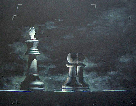 Still Life Painting - Chess by Josep Roig