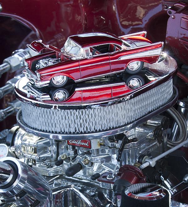 Chevrolet Bel Air Photograph - Chevrolet Bel-air Matchbox Car by Jill Reger