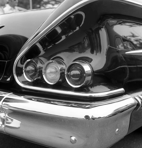 Car Photograph - Chevy Impala by Richard Singleton