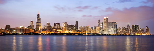 2010 Photograph - Chicago Panorama by Paul Velgos