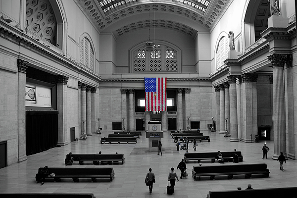 Chicago Photograph - Chicago Union Station by Sheryl Thomas
