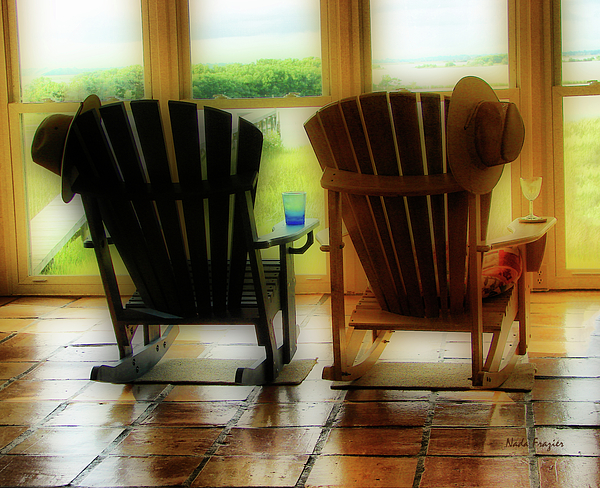 Chairs Photograph - Chillax by Nada Frazier