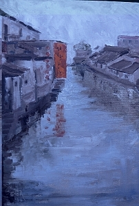 China Tongli River Charm Painting by Bryan Alexander