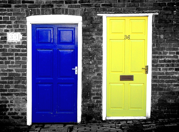 Doors Photograph - Choice by Roberto Alamino