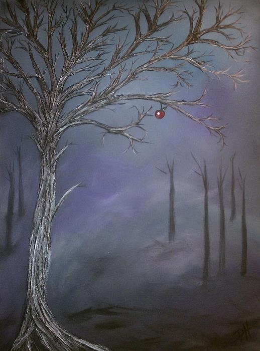 Tree Painting - Choice V by Patti Spires Hamilton